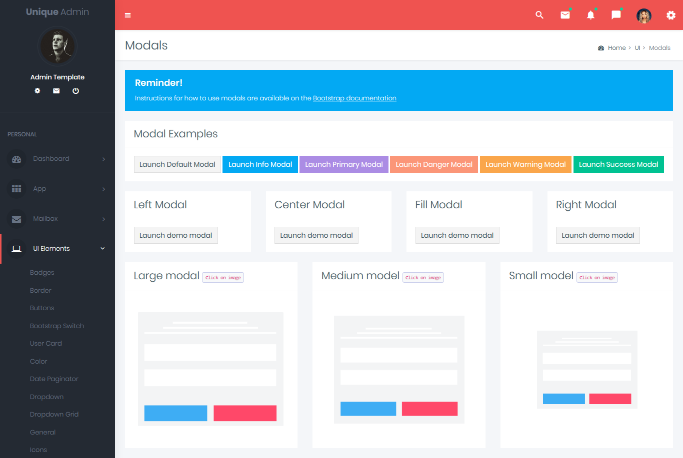 Unique bootstrap admin templates dashboard for Bootstrap popover custom template